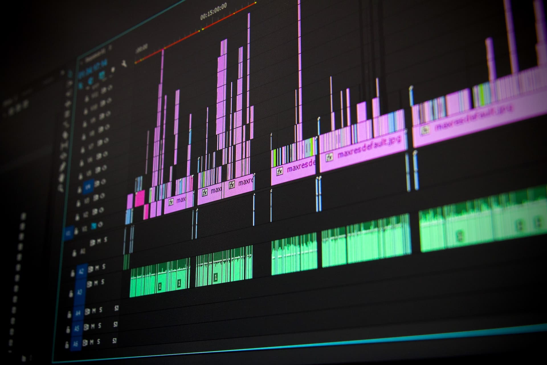 video timeline for brand storytelling video