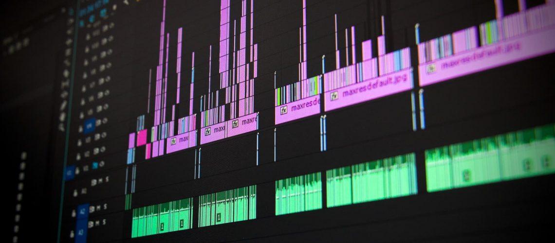 video timeline for brand storytelling video